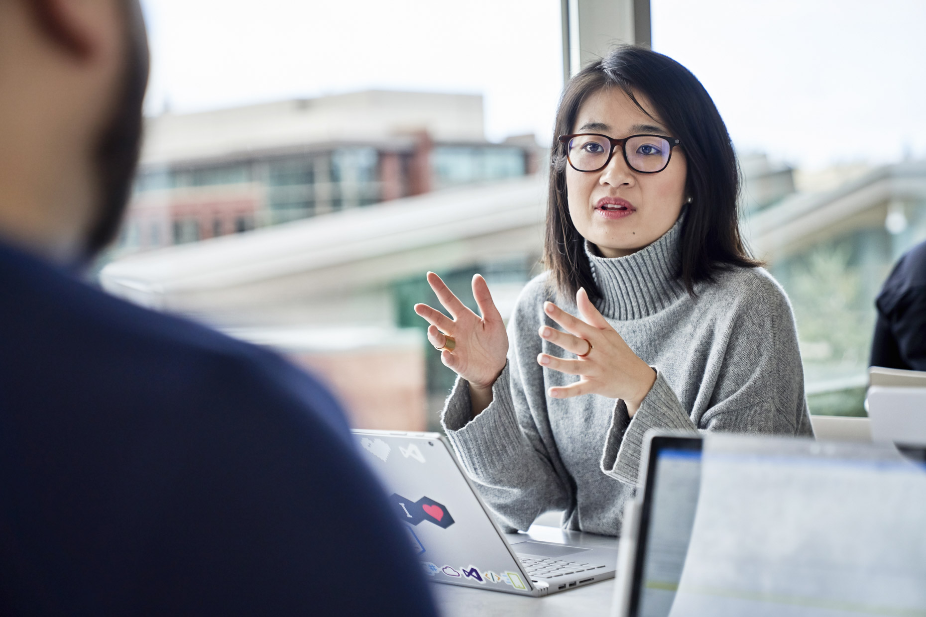 Asian-woman-talking-during-work-meeting-microsoft-Inti-St-Clair-IS20190313_MS365_897