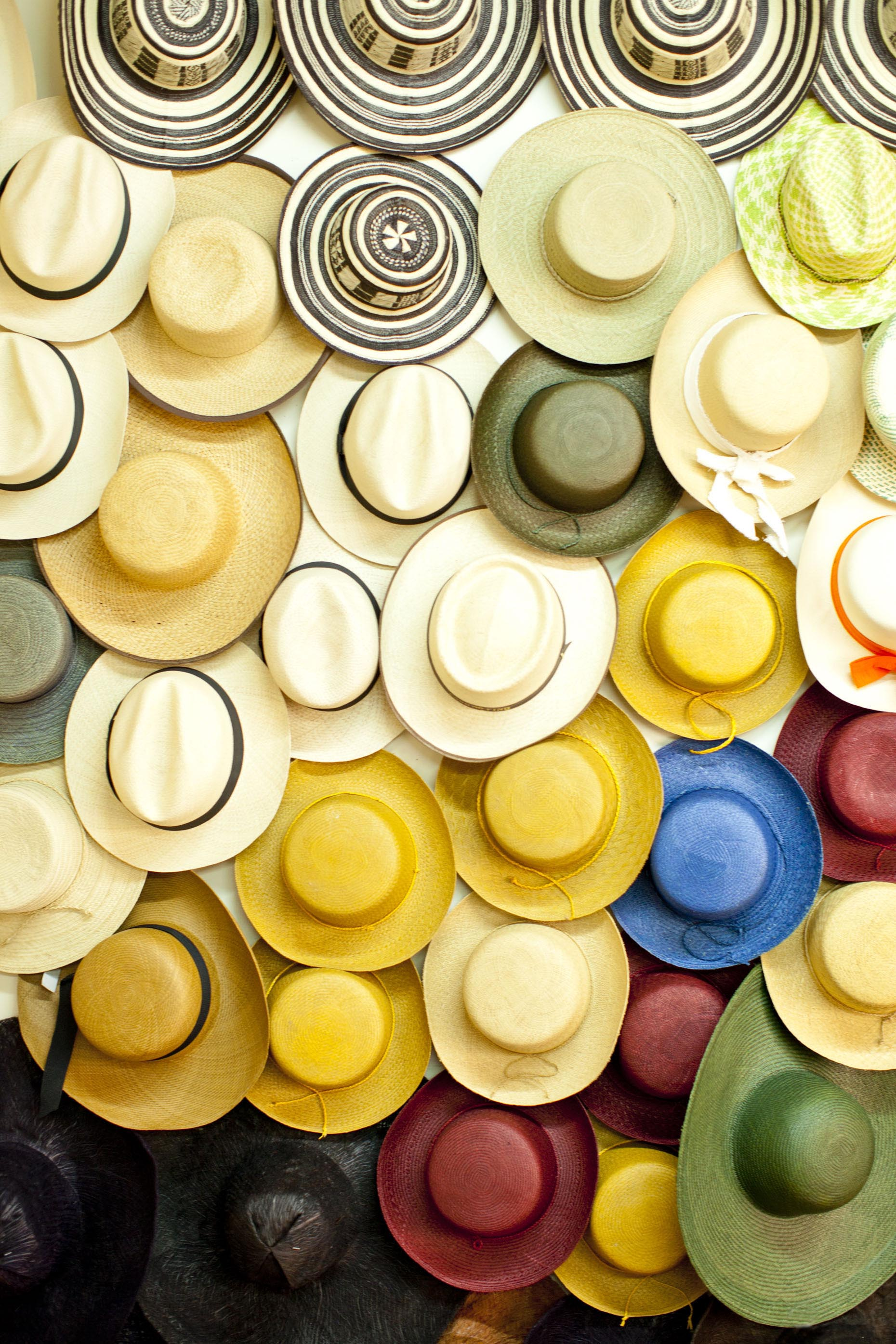 Colorful-hat-display-Bogota-Colombia-Inti-St-Clair-is201202151951